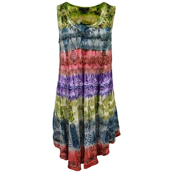 Calypso Swing Sleeveless Tunic