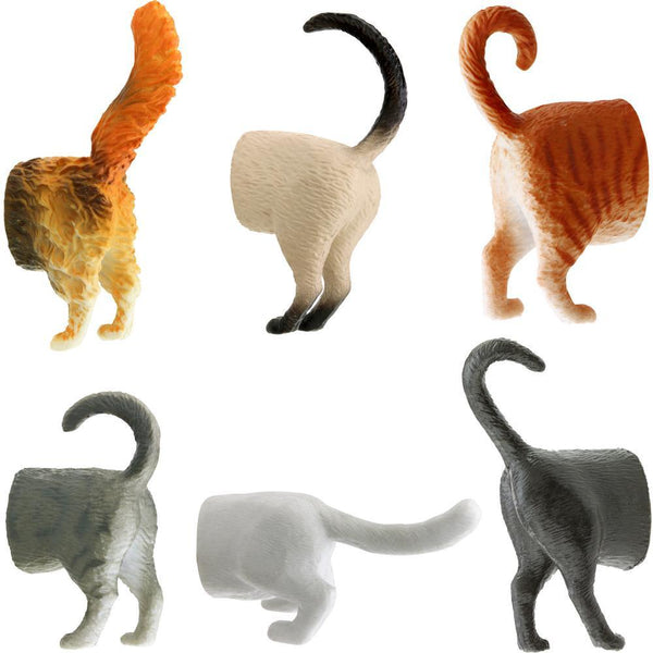 Cat Butt Magnets Set