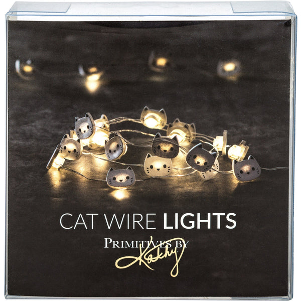 Cat LED Light String