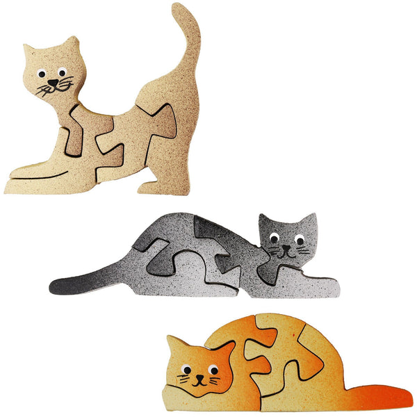 Cat Puzzle Magnet