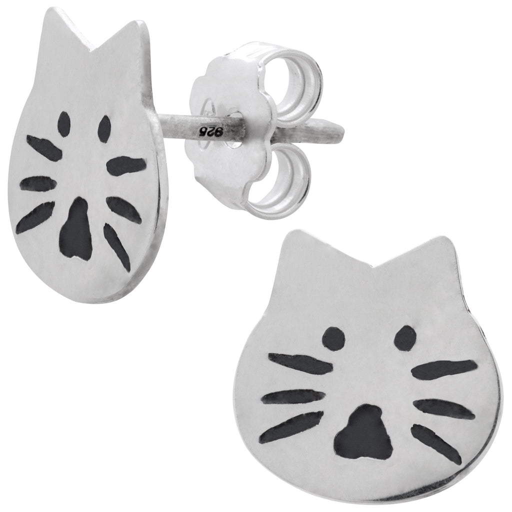 Cat Sterling Earrings