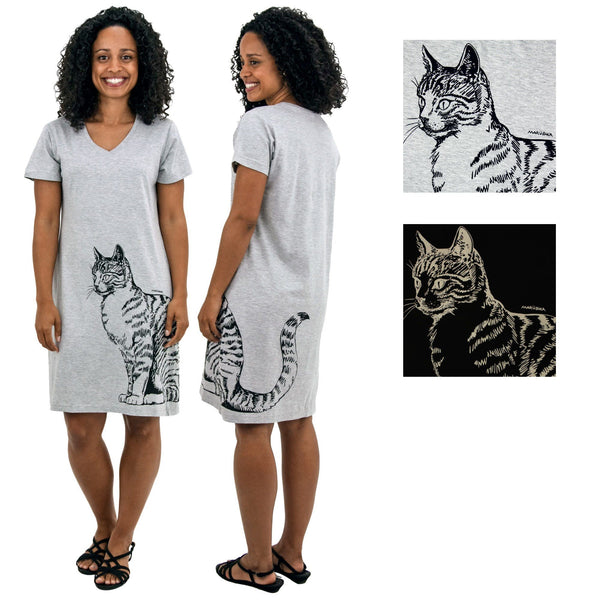 Cat Tail T-Shirt Dress