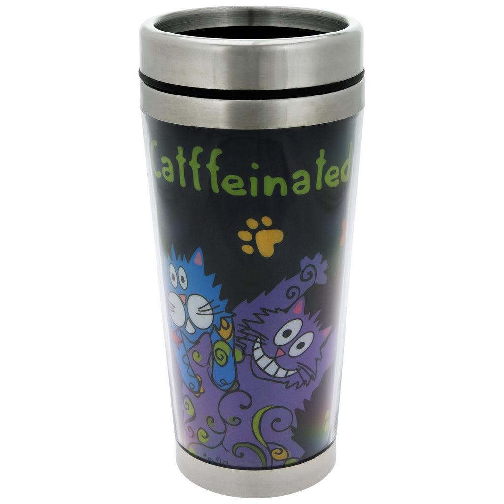 Catffeinated Cats Travel Mug