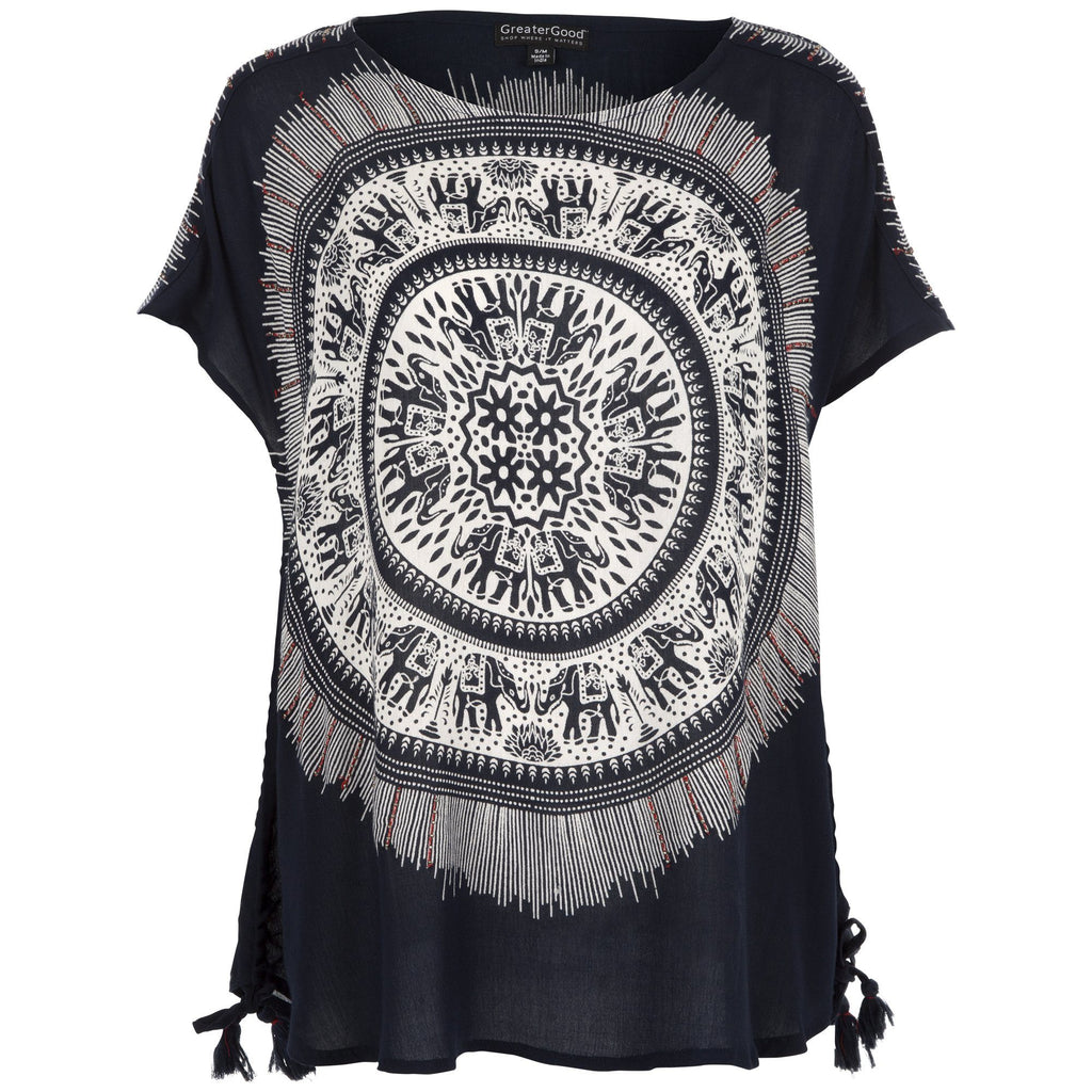 Center Of Self Cinch Tunic
