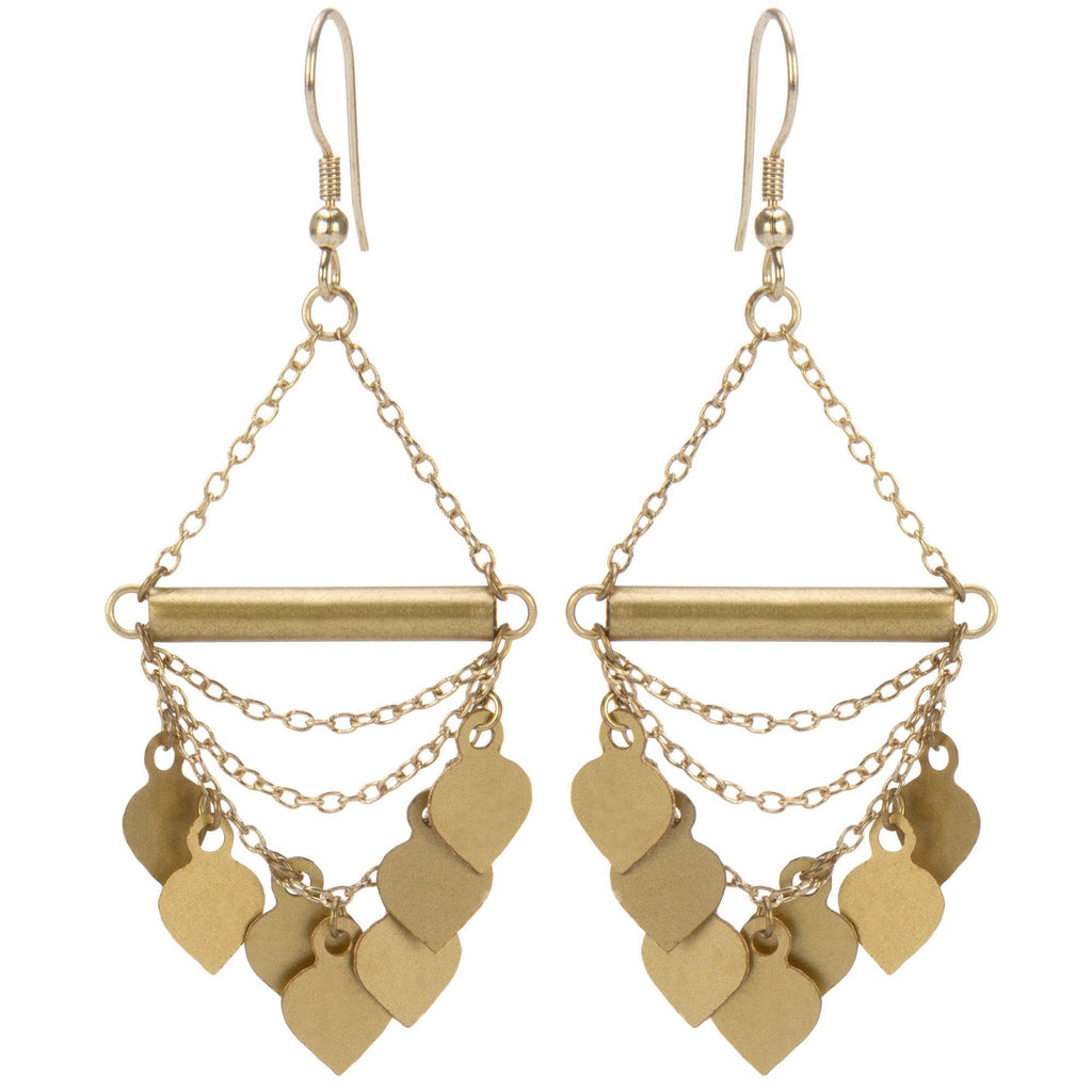 Chain Of Spades Earrings
