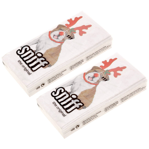 Christmas Bulldog Sniff® Tissues - 2-pack