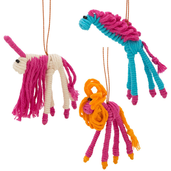 Colombian Bendy Animal Ornament