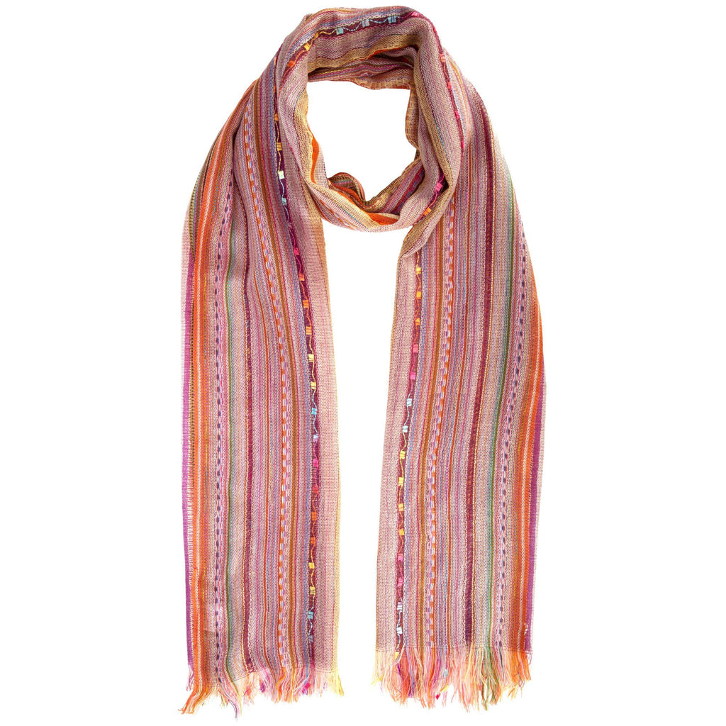 Color Celebration Woven Scarf