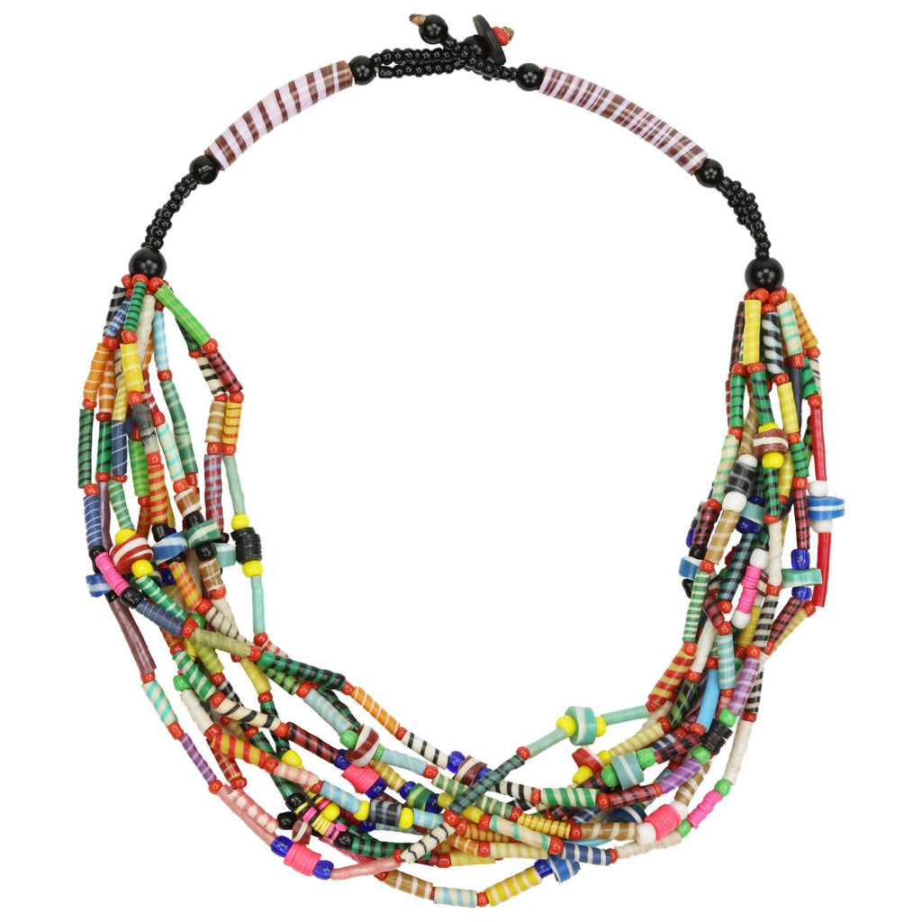 Colors Of Mali Recycled Necklace