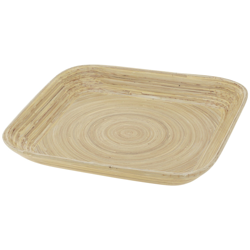 Contemporary Bamboo Serving Tray