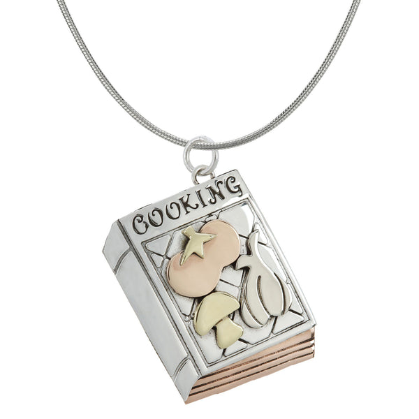 Cookbook Sterling Necklace
