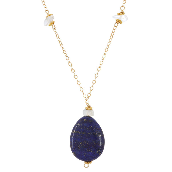 Cosmic Blue Lapis Necklace
