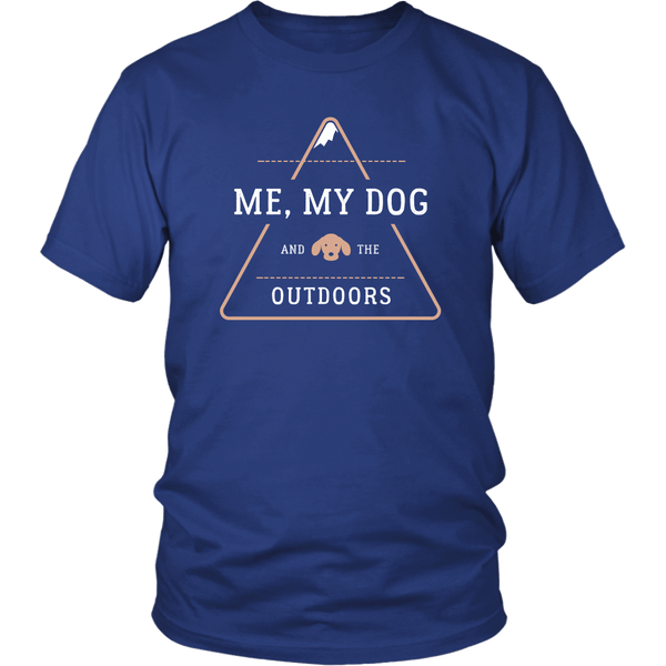 T-shirt - My Dog & The Outdoors T-Shirt