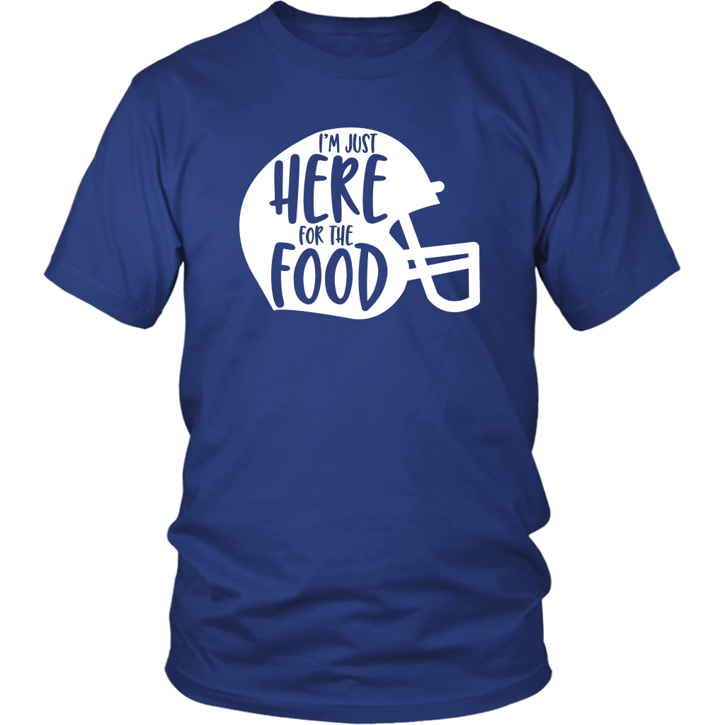 T-shirt - Here For The Food Unisex T-Shirt