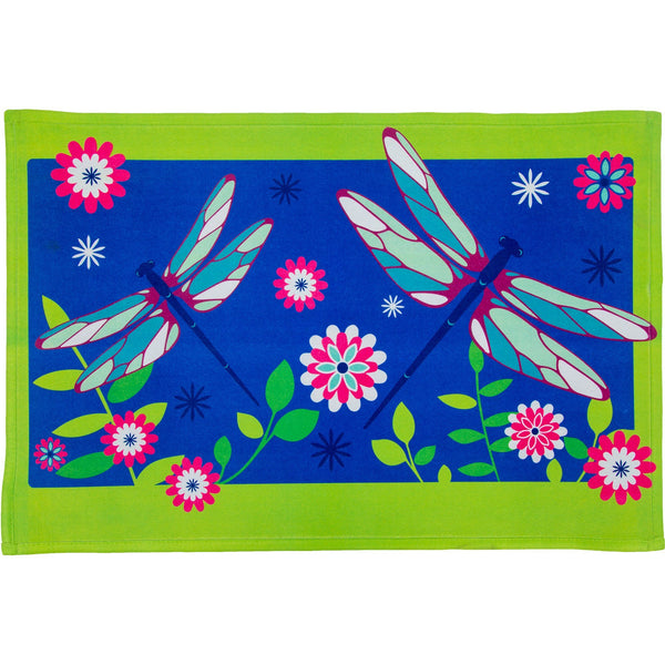 Dancing Dragonflies Indoor/Outdoor Mat