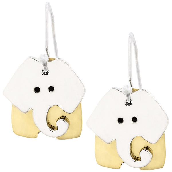 Dancing Elephant Earrings