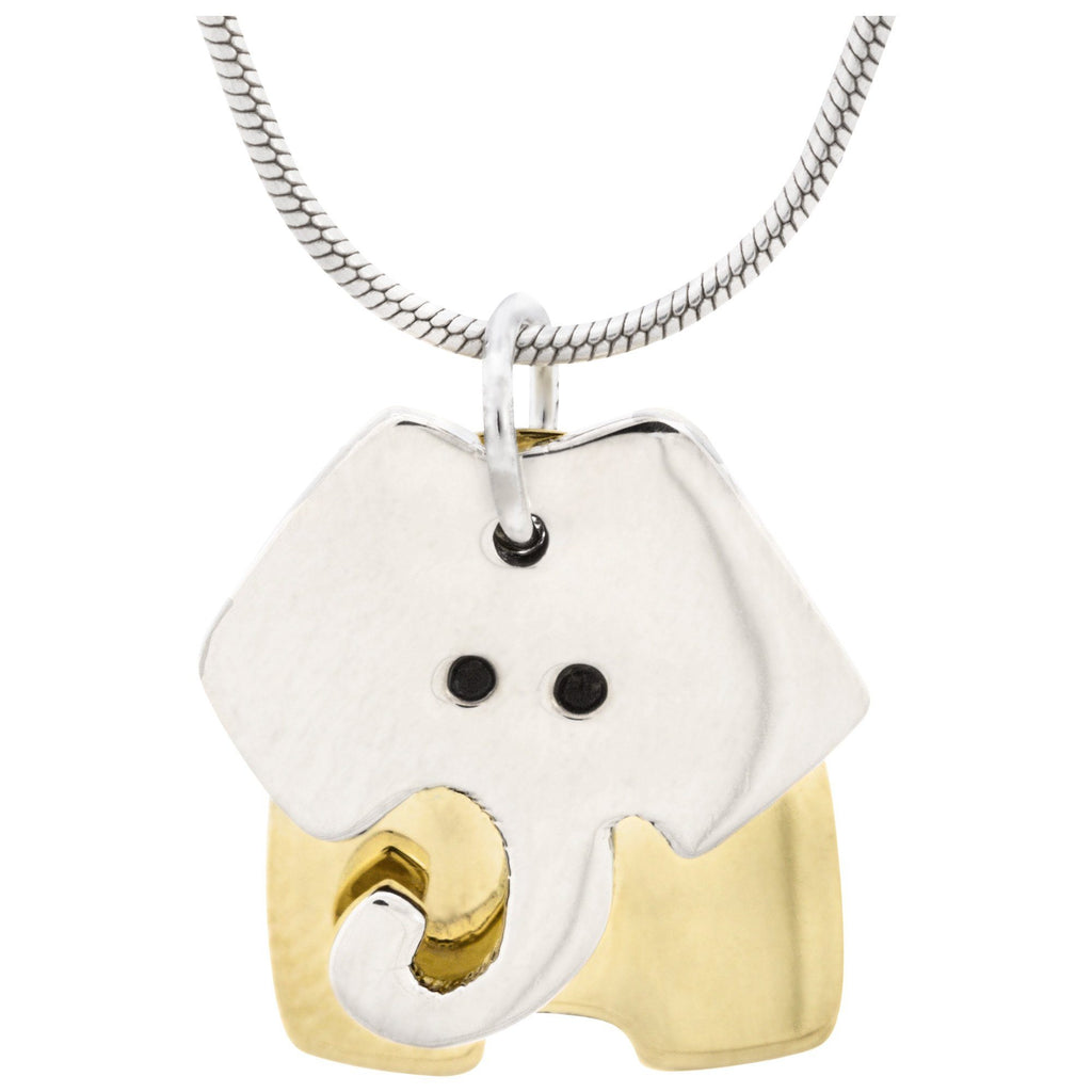 Dancing Elephant Necklace