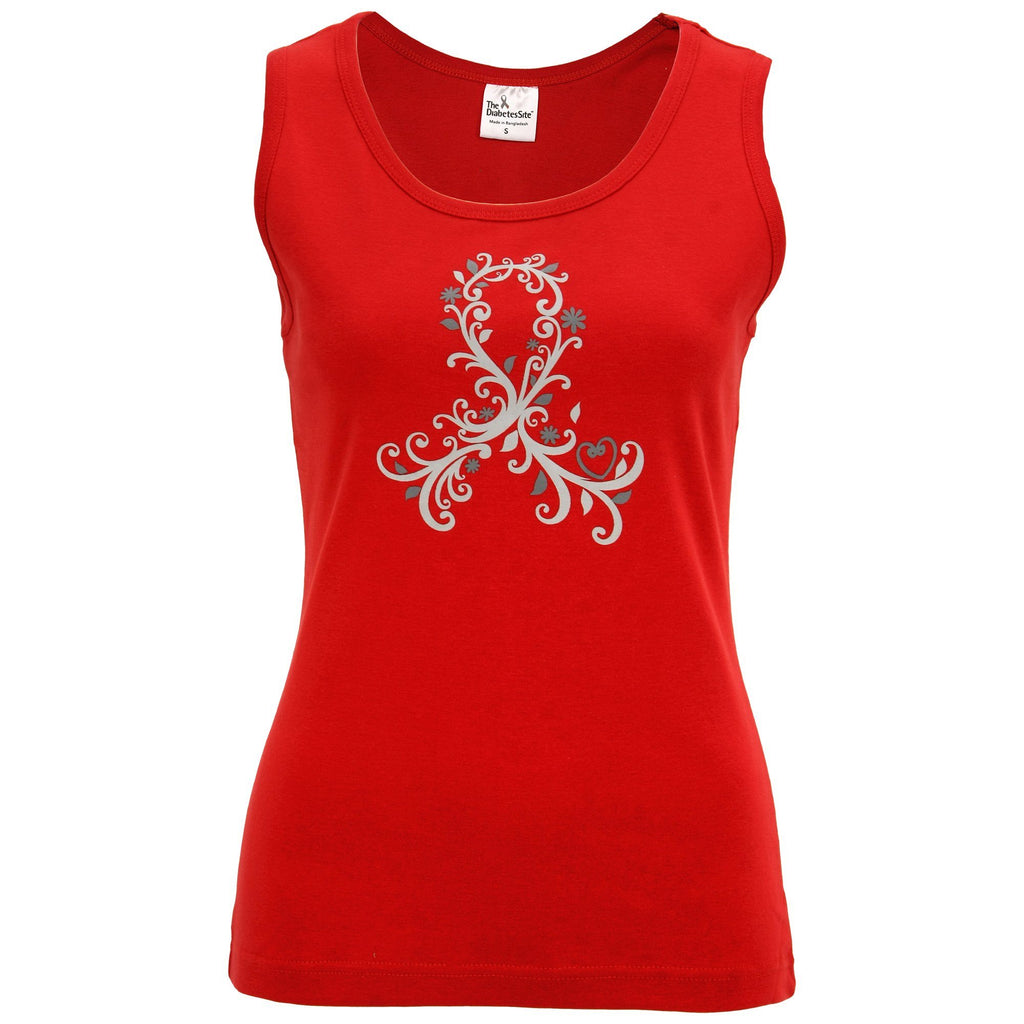 Diabetes Awareness Flourish Tank Top