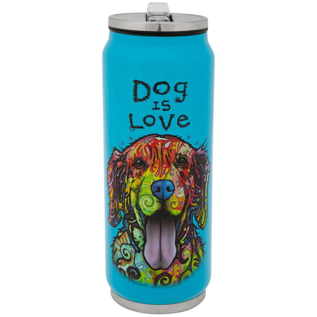 Dog Is Love Dean Russo Stainless Steel Water Bottle