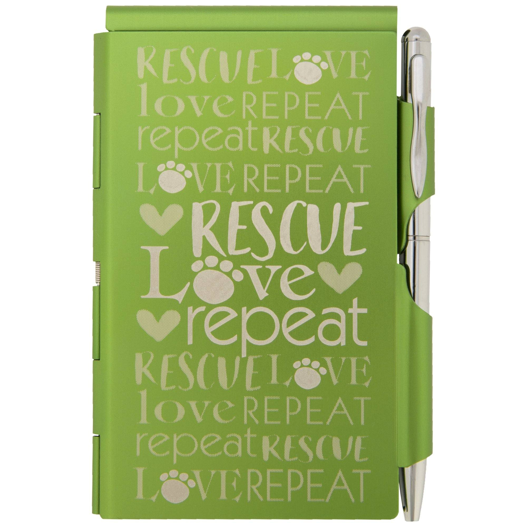 Rescues Are Love Notepad Personalized