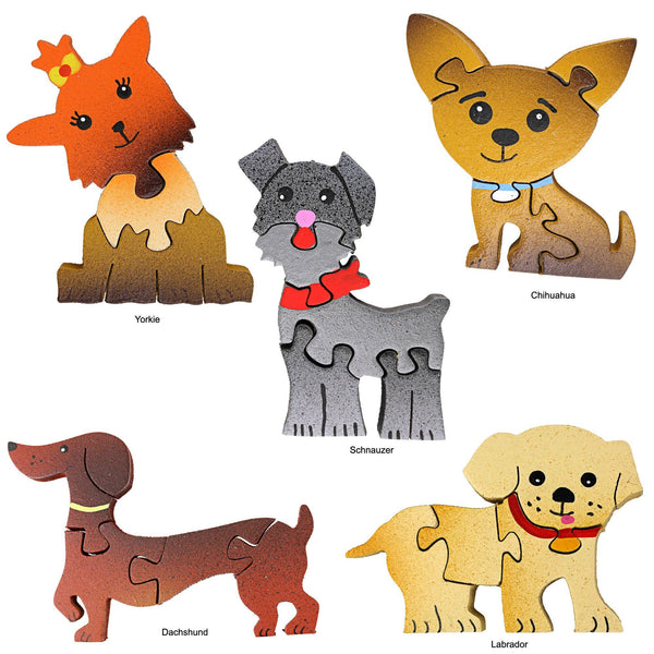 Dog Puzzle Magnet