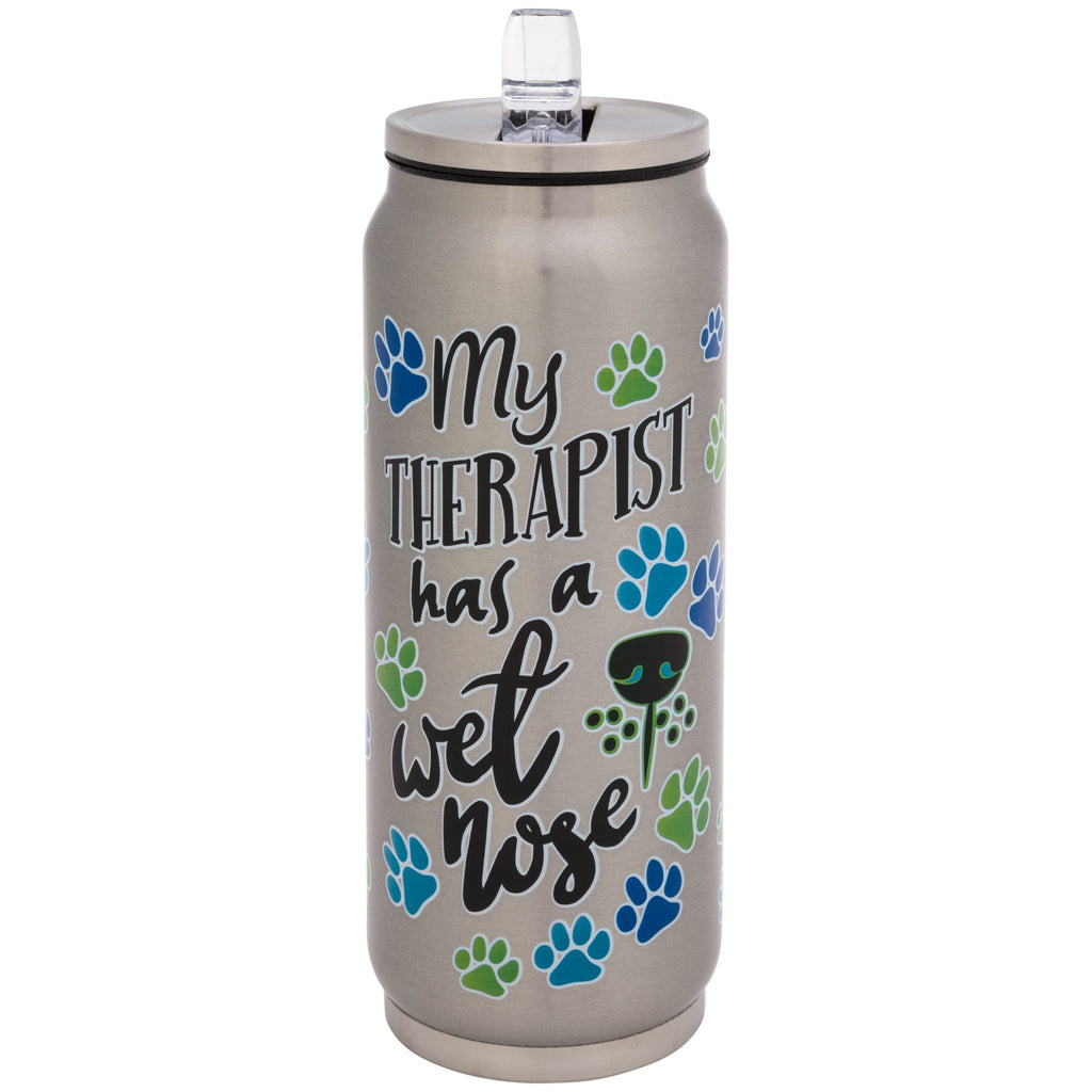 Dog Therapy Stainless Steel Water Bottle