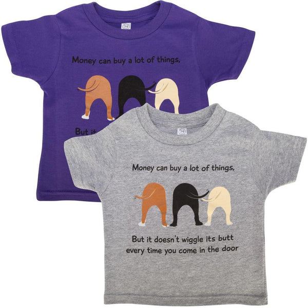 Dog Wiggle Toddler Tee