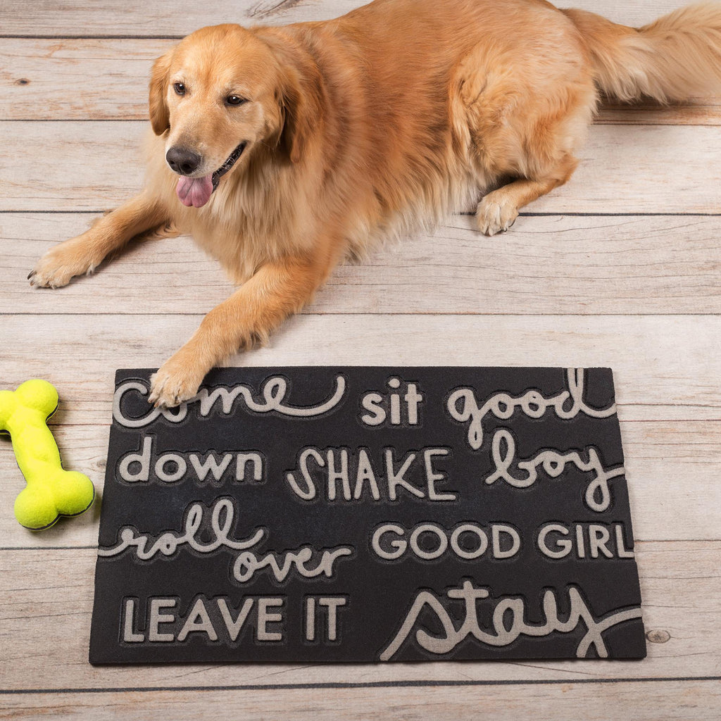 Dog Words Mat