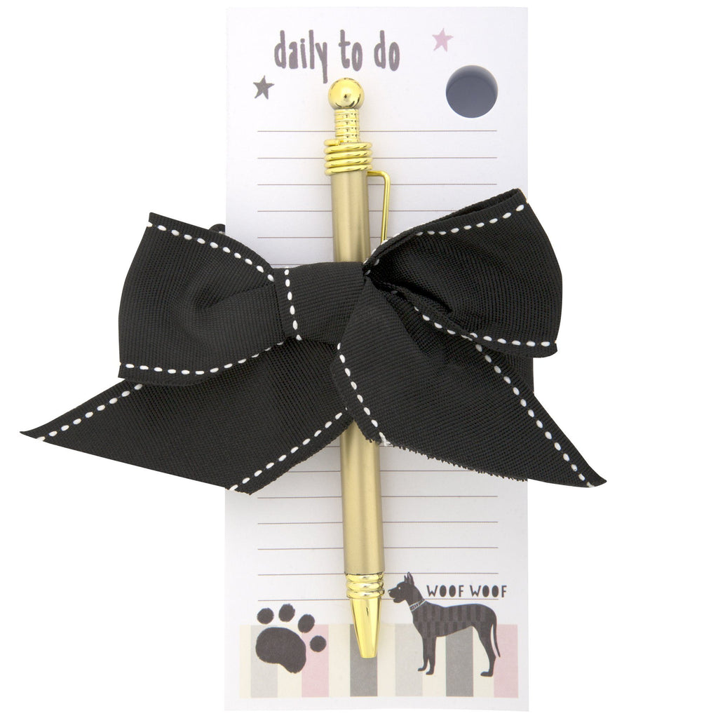 Doggie To Do Block Notepad & Pen Set