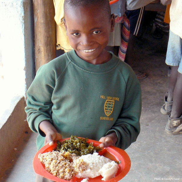 Donation - A Year Of School Lunches For An AIDS Orphan