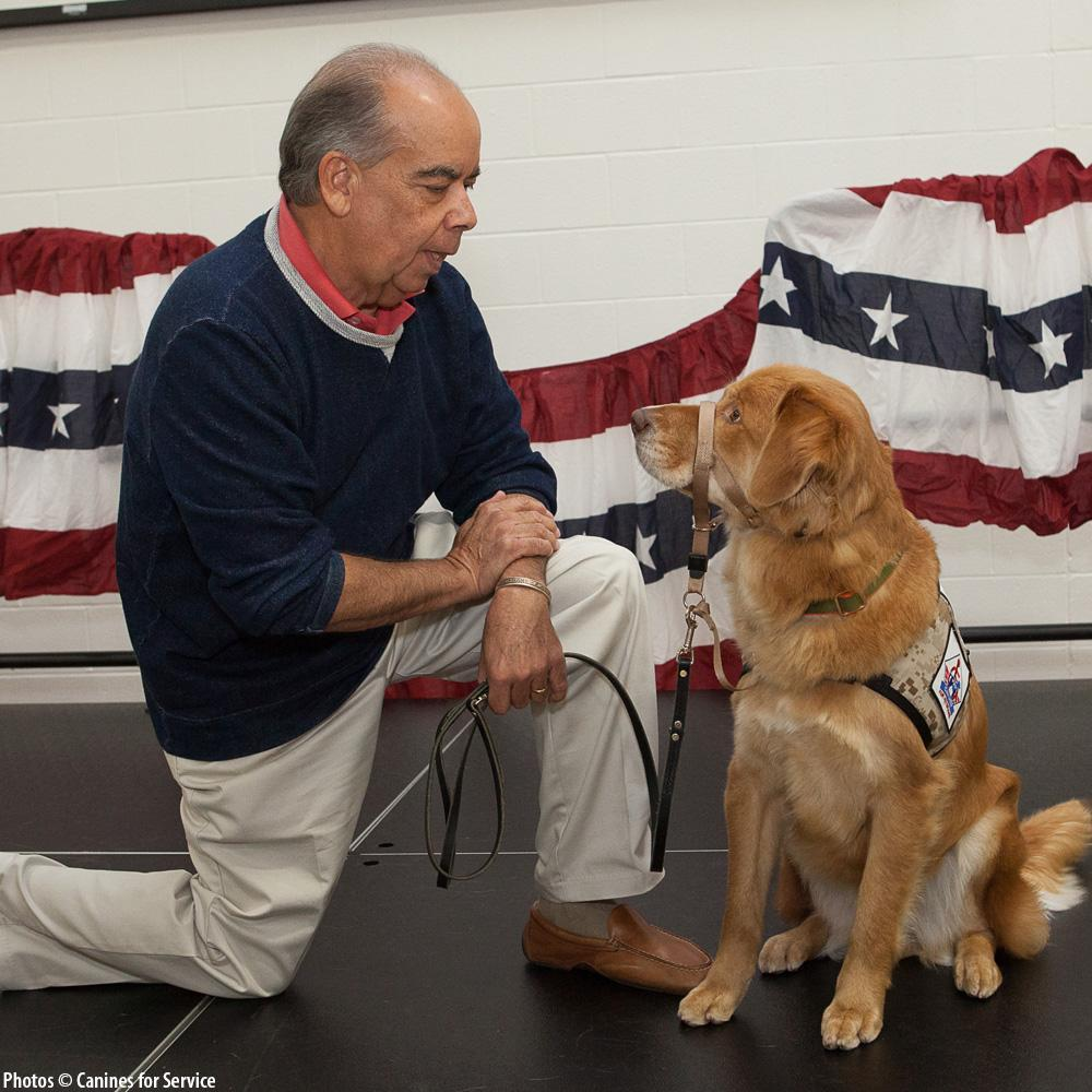 Donation - Changing Veterans Lives, Four Paws At A Time