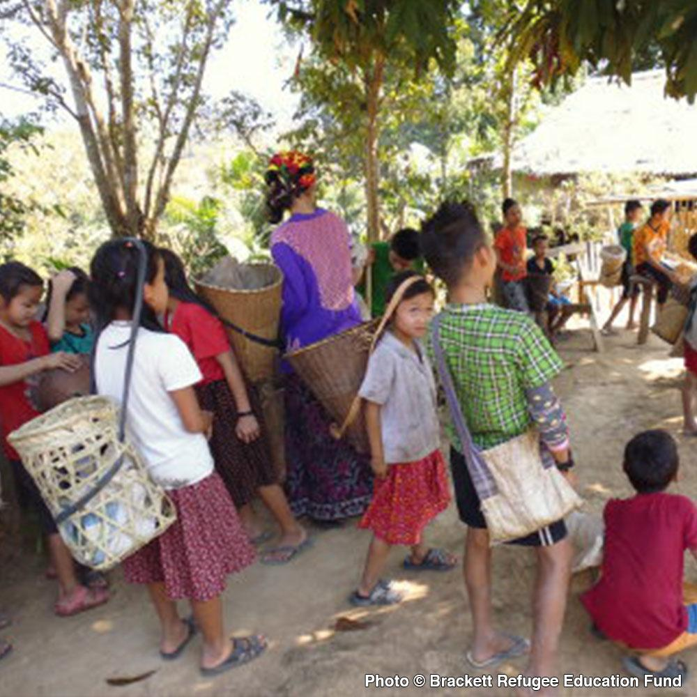 Donation - Education For Displaced Children In Myanmar