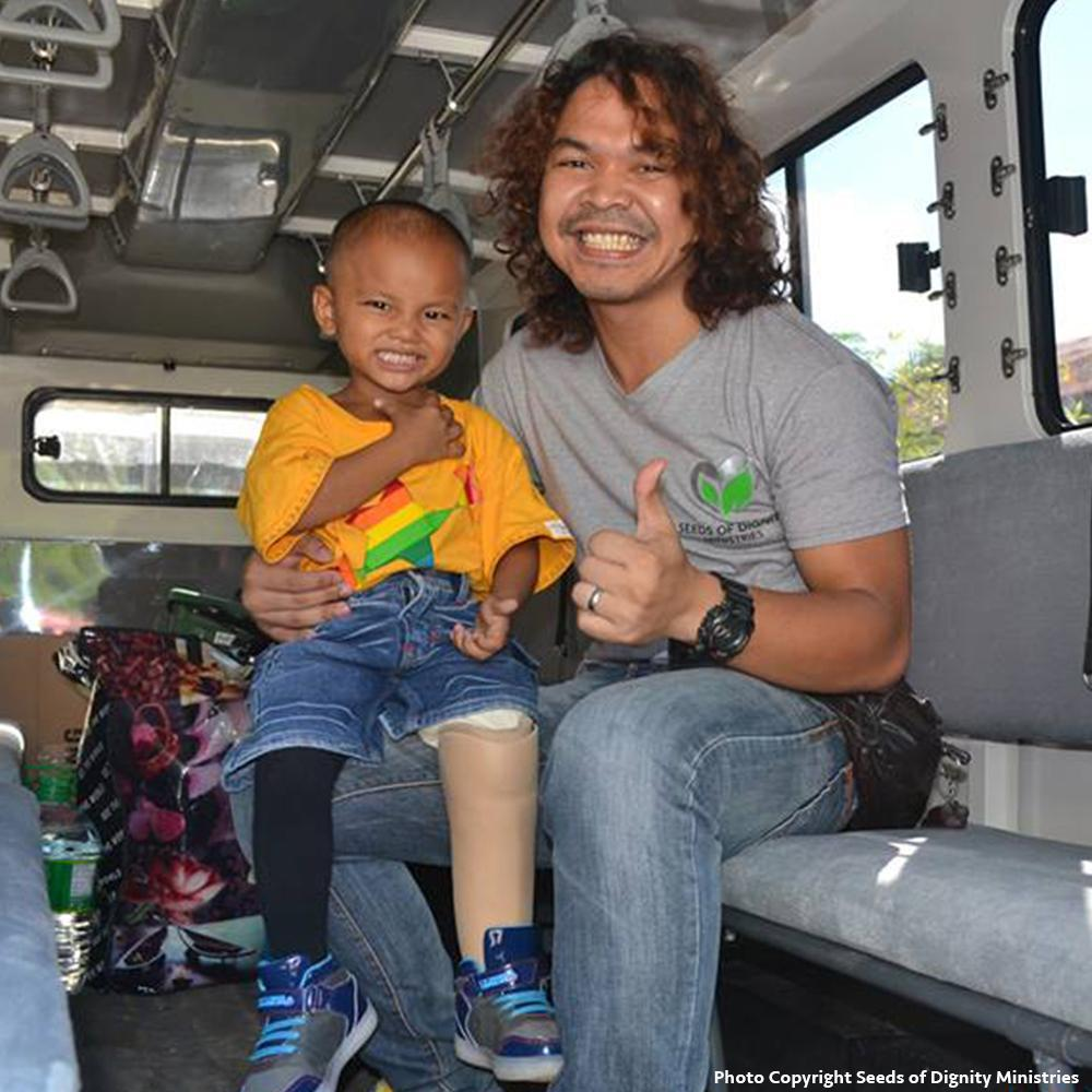 Donation - Provide Prosthetic Legs For Children In The Philippines