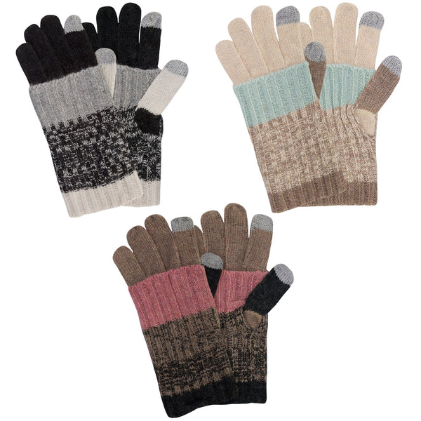 Double Layer Cozy Touchscreen Gloves
