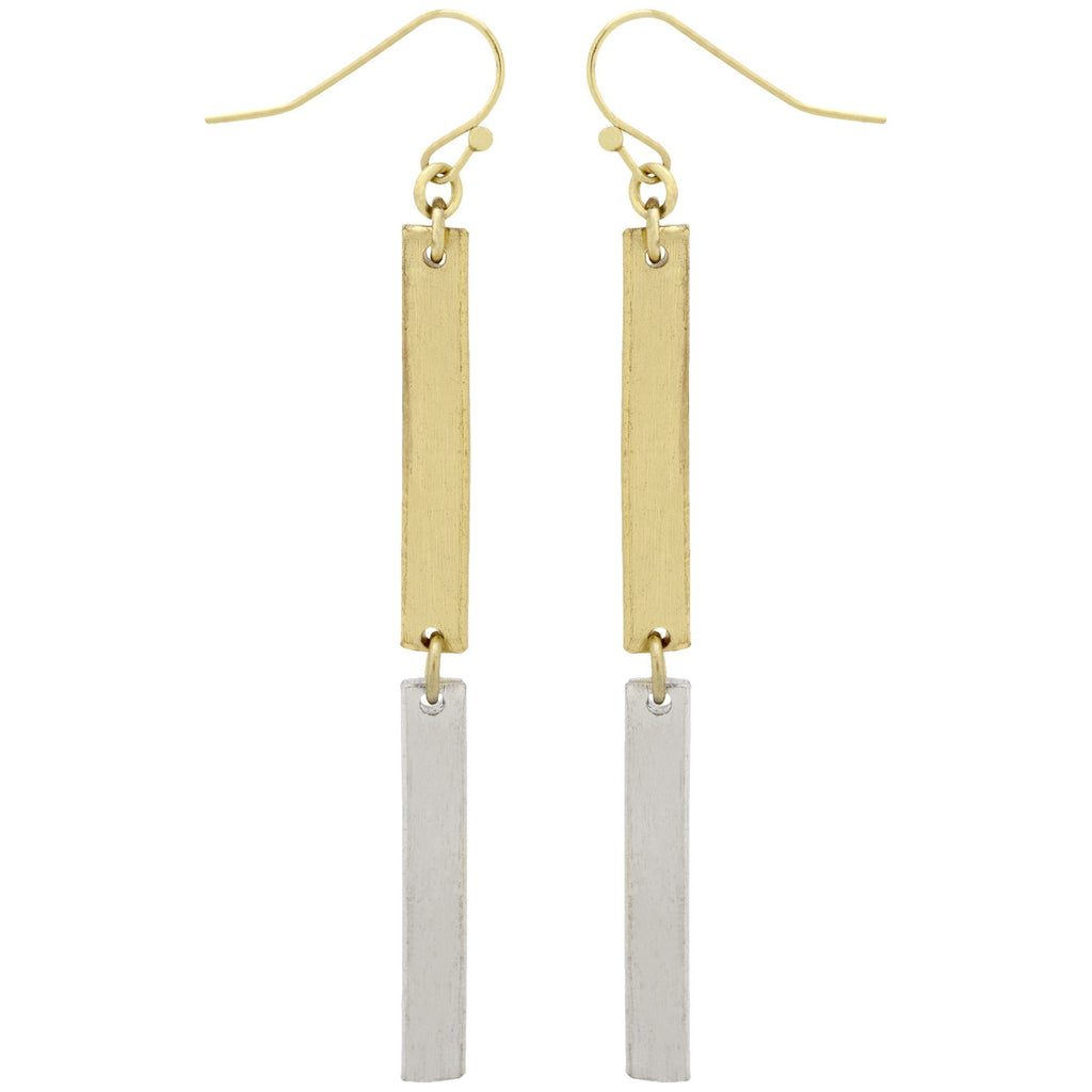 Double Linear Earrings