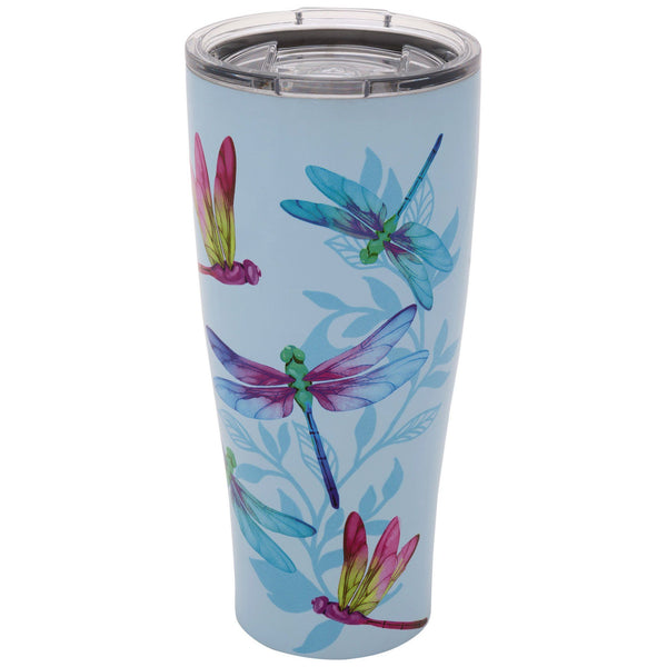 Dragonfly Dreams Stainless Steel Travel Mug