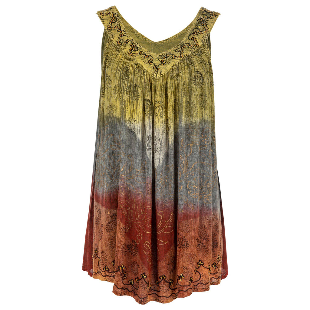 Earth Gardens Sleeveless Top