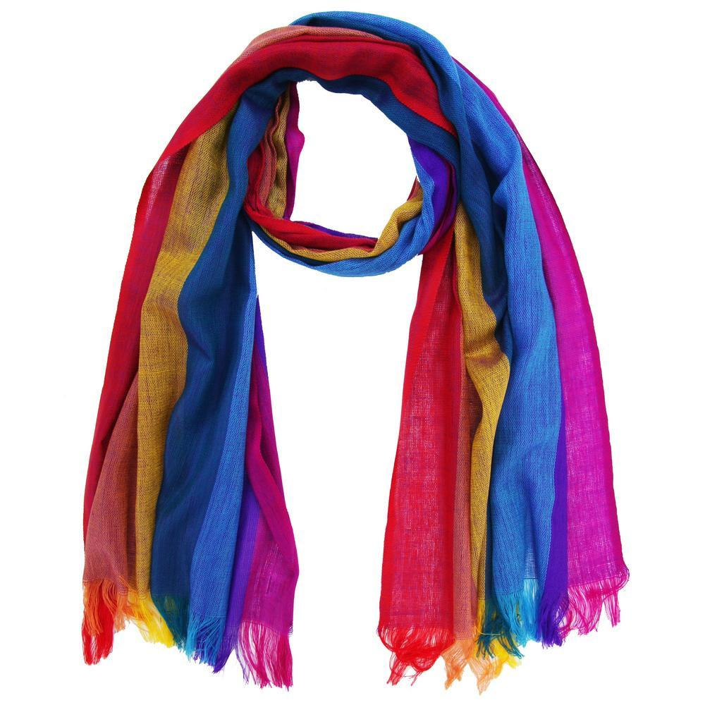 Electric Rainbow Scarf