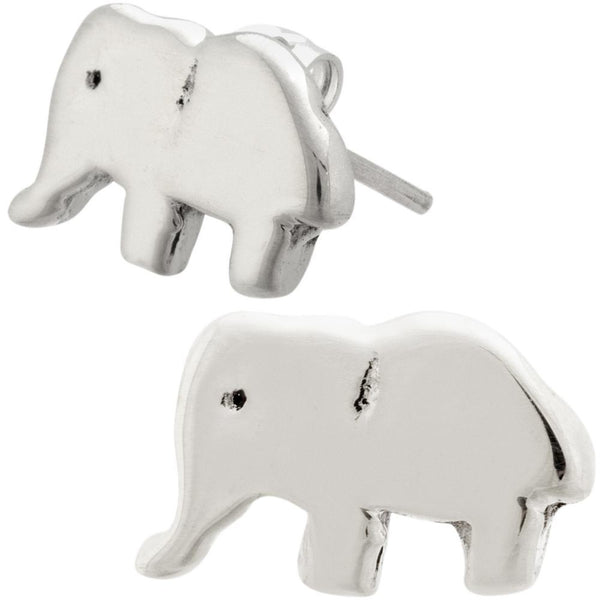 Elephant Sterling Earrings