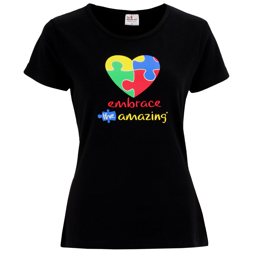 Embrace The Amazing™ Autism Awareness Heart Tee