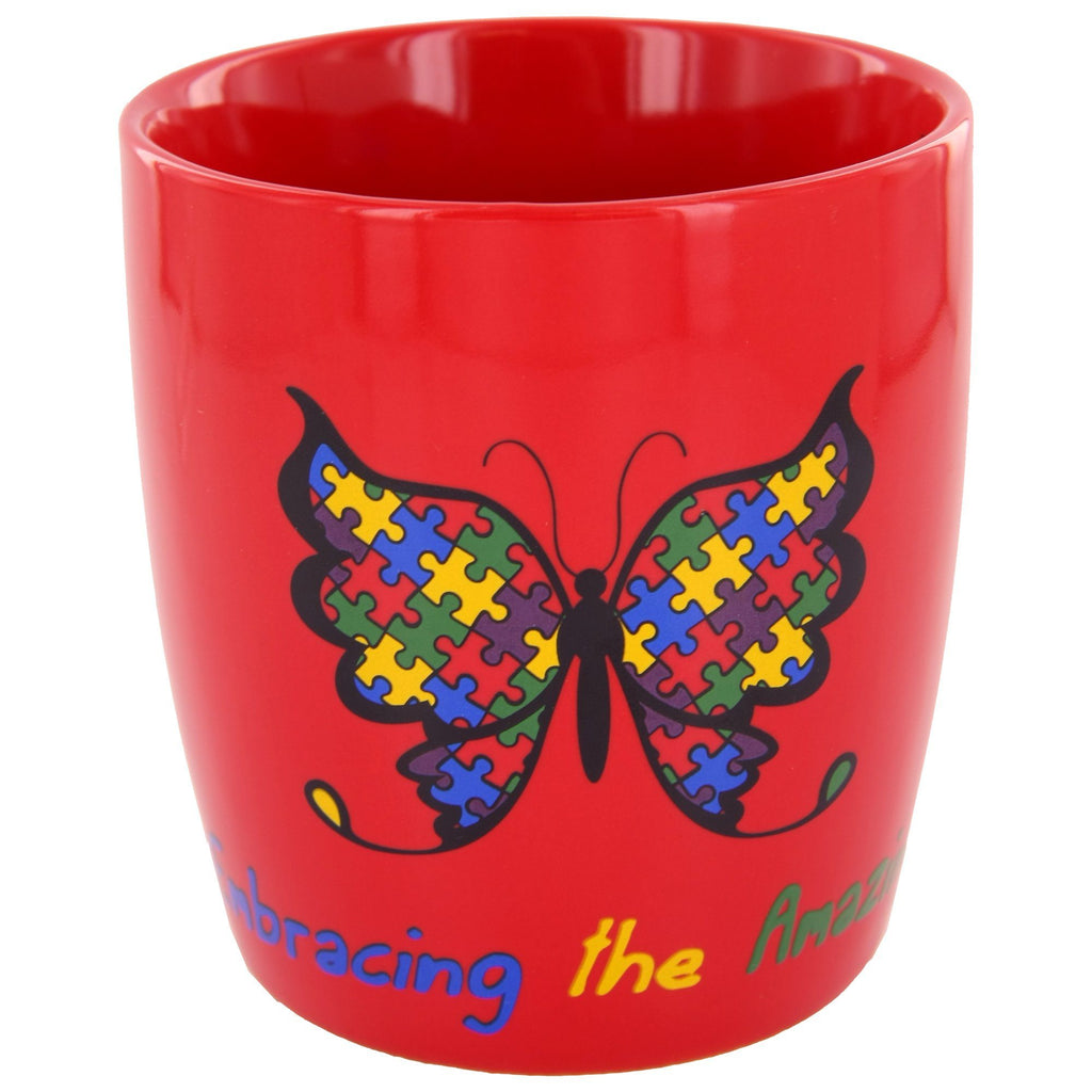 Embracing The Amazing Autism Awareness Mug