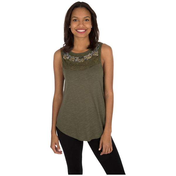 Enchanted Forest Sleeveless Tunic