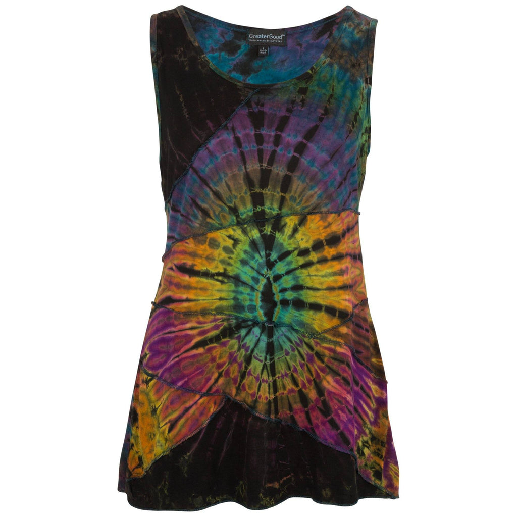 Every Which Way Tie Dye Sleeveless Top