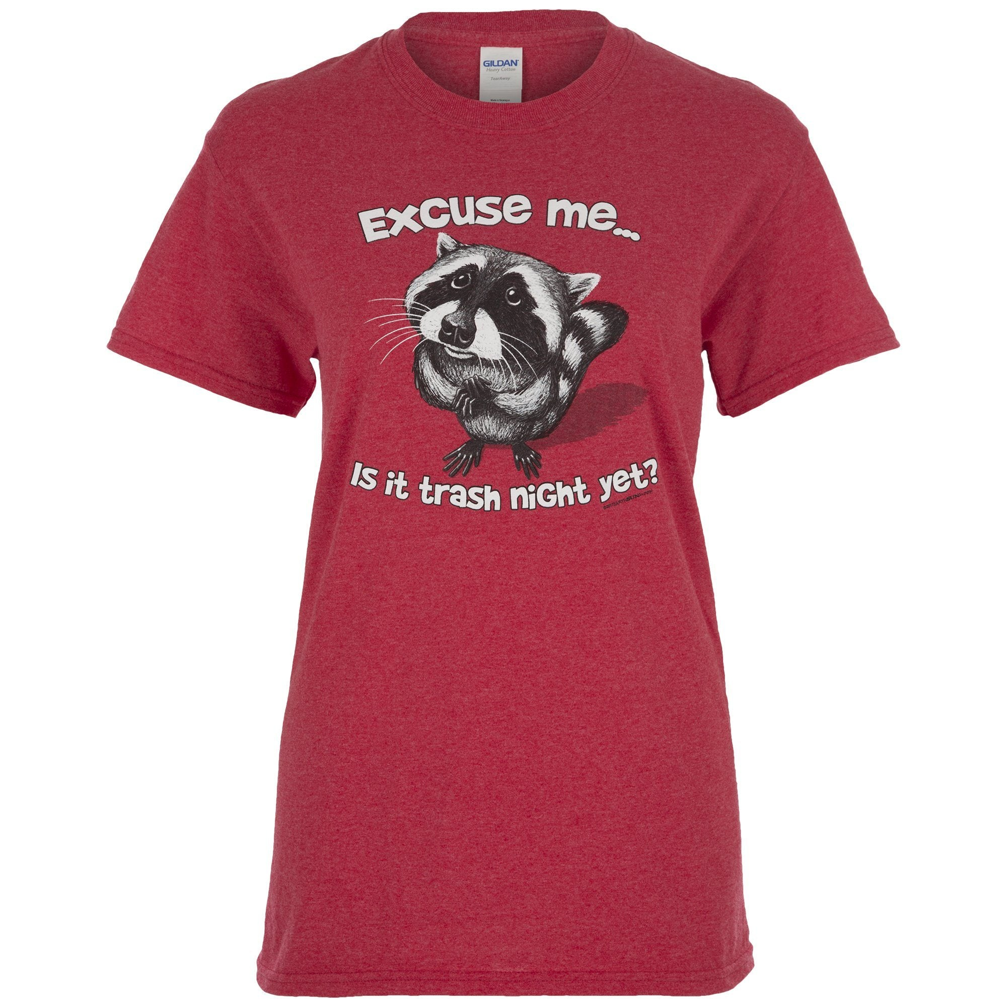 f8cac58657 Excuse Me Raccoon T-Shirt