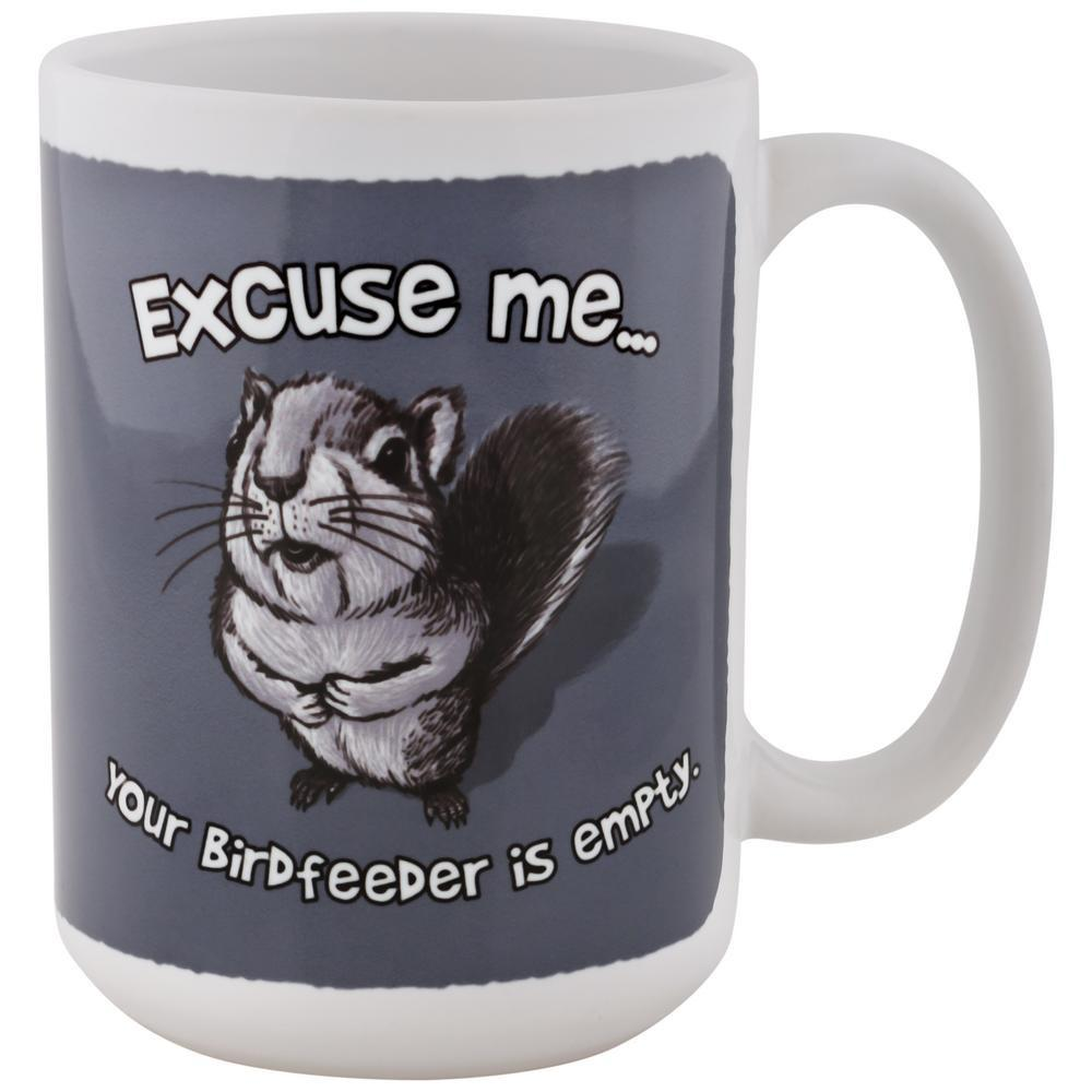 Excuse Me Squirrel Mug