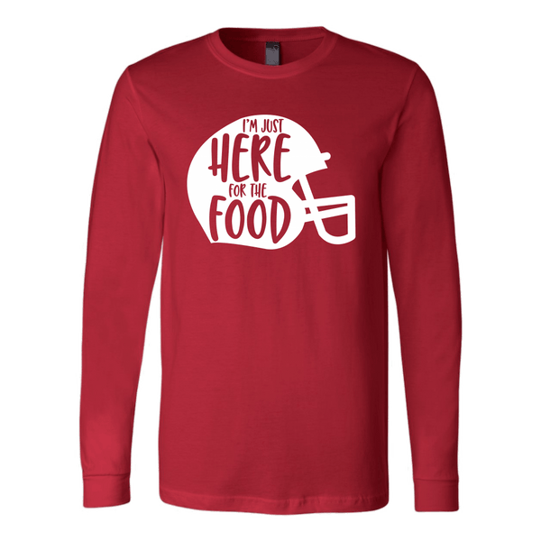 T-shirt - Here For The Food Long-Sleeve Shirt
