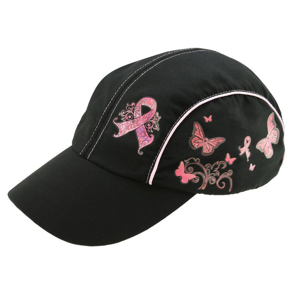 Faith Hope Love Pink Ribbon Low Profile Cap