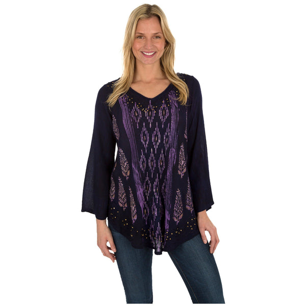 Falling Gems Long Sleeve Tunic