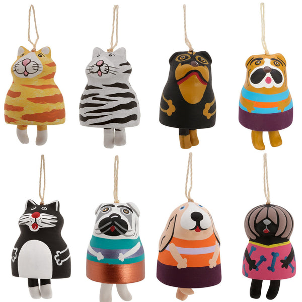 Fat Pet Bell Ornament