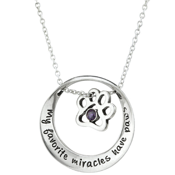 Favorite Miracle Mobius Sterling Necklace
